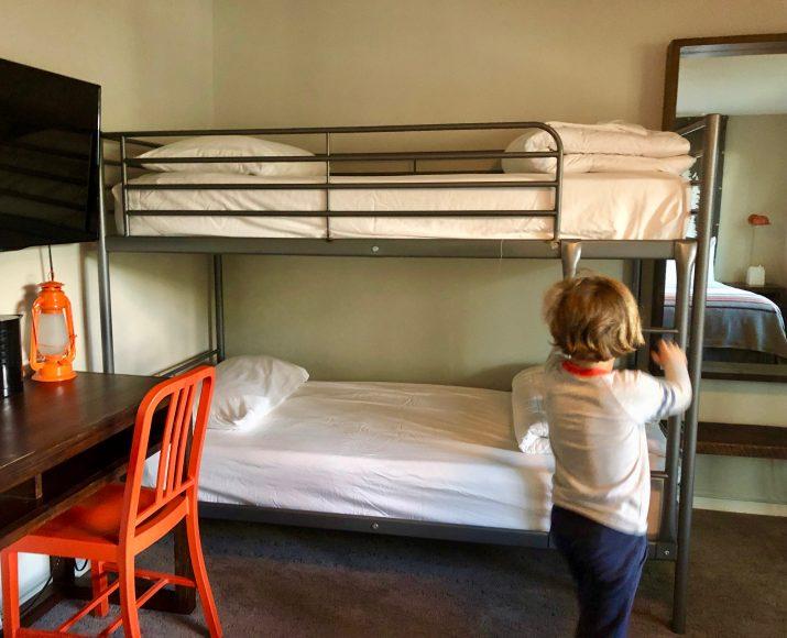 Yeah, bunk beds!