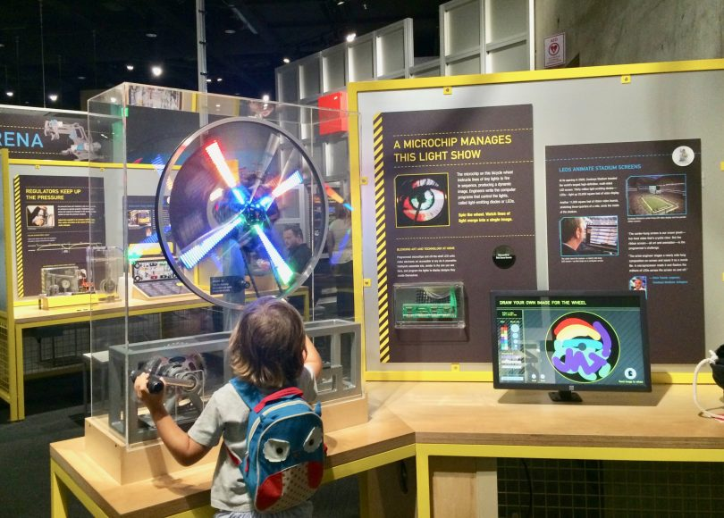STEAM fun at the Perot Museum in Dallas.