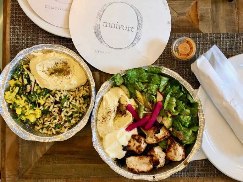 Mediterranean budget-friendly take-away from Omnivore Grill.