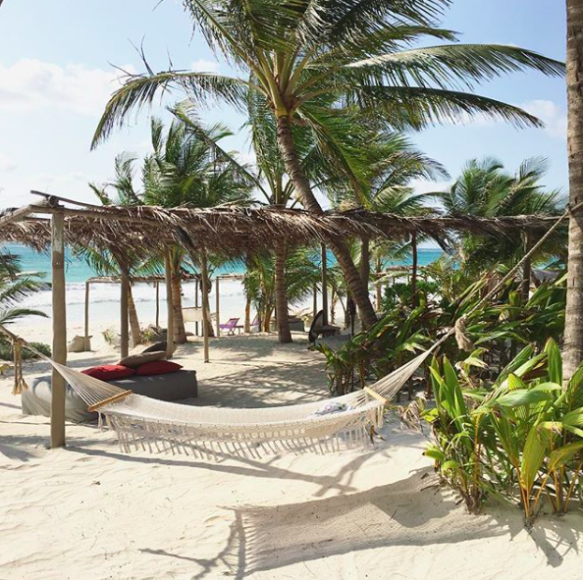 Today's agenda at the Hotel Nomade in Tulum, Mexico? Nada. {Photo: Hotel Nomade}