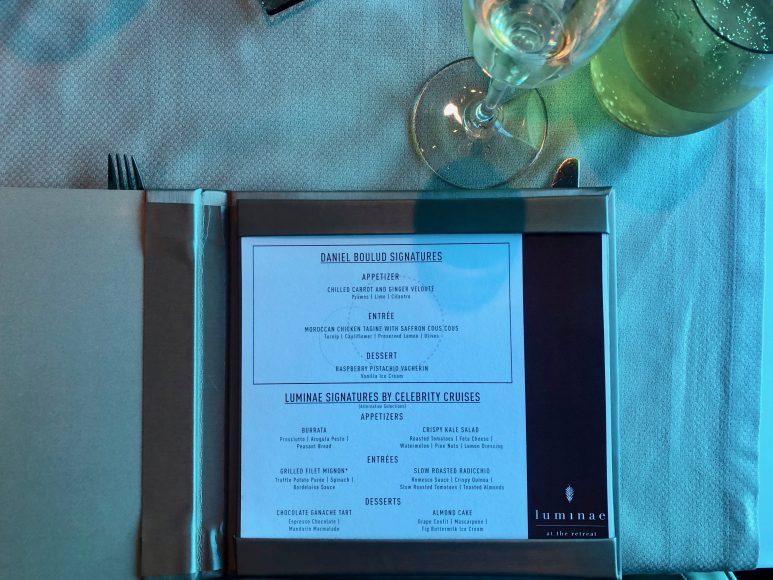 Luminae's foodie-focused menu, created by legendary chef, Daniel Boulud. {Photo: Kerry Cushman}