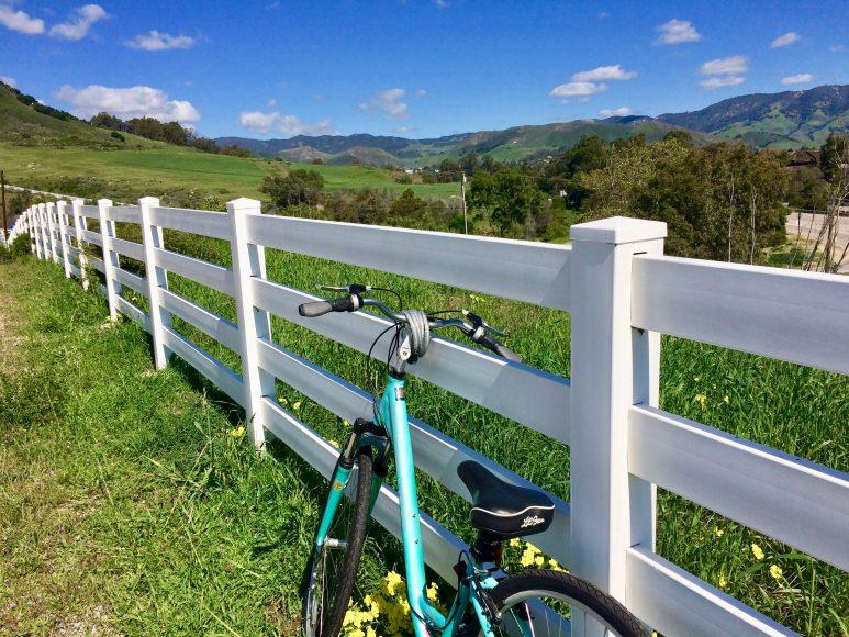 Let's ride. San Luis Obispo is a bike-friendly city.