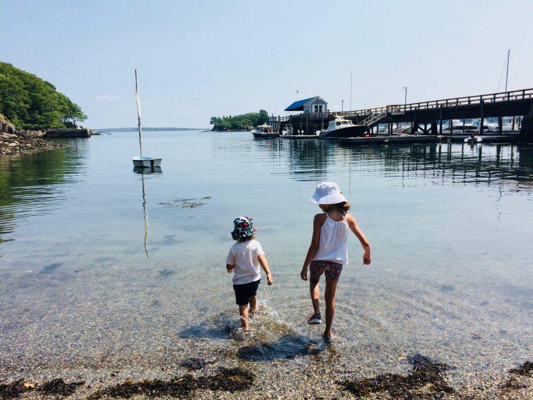 That island life on Great Diamond Island, Maine.