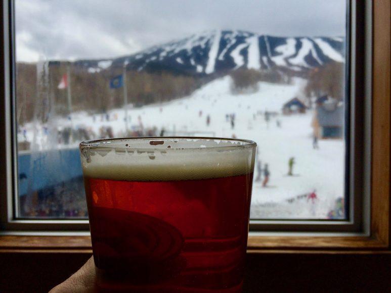 Cheers to apre-ski.