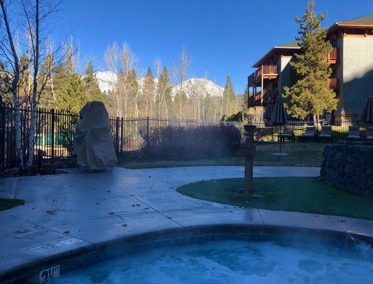 Hot tub time machine, please bring me back to Tahoe.