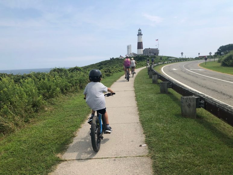 Bike ride to the lighthouse.
